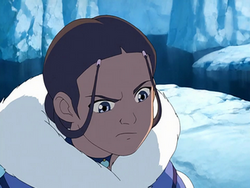 Katara is offended