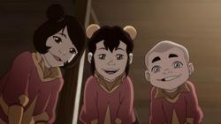 Ikki introducing her family