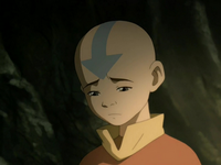 Aang mourning
