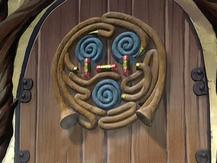 Air temple sanctuary door