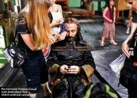 Film - Shaun Toub getting ready