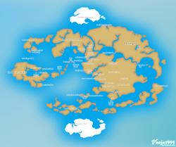 Avatar Political Map by Vanja1995
