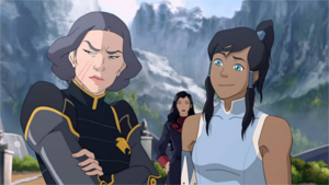 Lin Beifong displeased