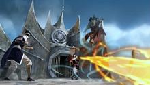 Zaheer fighting his guards