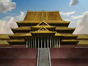 Earth Kingdom Palace main hall