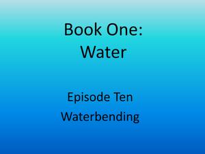 10 waterbending