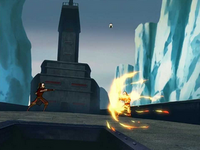 Zuko fighting Aang
