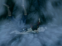 Zuko and Sokka crash
