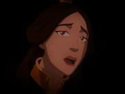 Ursa in Zuko's dream