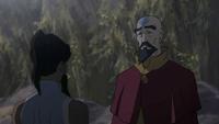 Korra and Tenzin reconcile