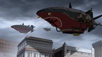 Equalist airship