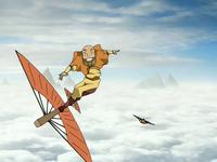 Gyatso airsurfing