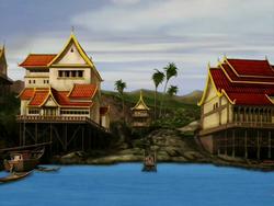 Ember Island port