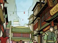 Yu Dao city streets