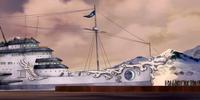 Unalaq's ship
