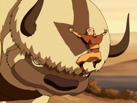 Aang and Appa