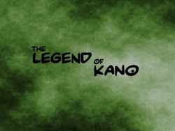 Fanon The Legend of Kano Main Title Card