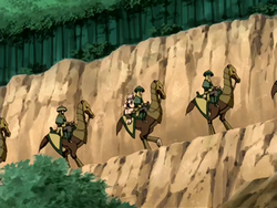 Earth Kingdom cavalry