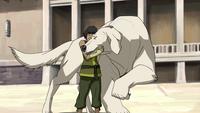 Naga reuniting with Korra