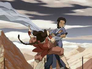 Ty Lee fights Katara