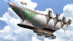 Future Industries airship