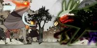 Battle in the Spirit Wilds