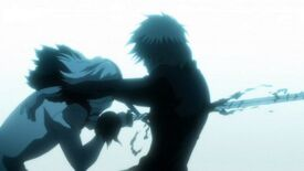 Tensa impaling Ichigo