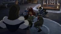 Unalaq viewing a captured Team Avatar