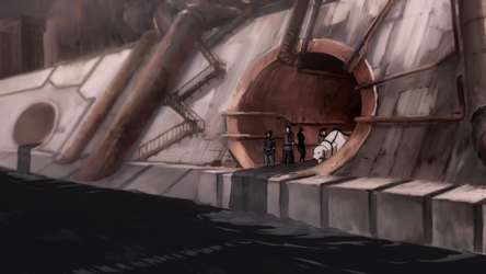 File:Team Avatar in a sewage exit.png