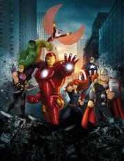 Avengers Assemble movie replica poster