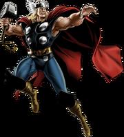 Mighty Thor Portrait Art