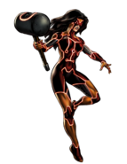 Kuurth Spider-Woman Portrait Art