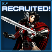 Sif Recruited