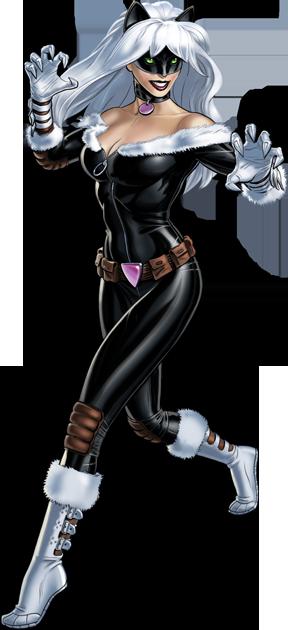 Image - Claws Black Cat Portrait Art.png   Marvel ...