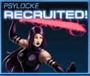 Psylocke Recruited Old