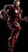 Avengers Iron Man Portrait Art