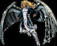 Angel Right Portrait Art