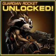 Guardian Rocket Raccoon Unlocked