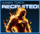 Human Torch Recruited Old