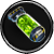 Green Unstable Isotope-8 Task Icon