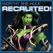 She-Hulk Skirn Unlocked