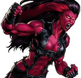 Red She-Hulk/Dialogues | Marvel: Avengers Alliance Wiki ...