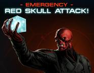 Red Skull Group Boss Wall Post