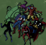 Avengers Skrulls Assemble!