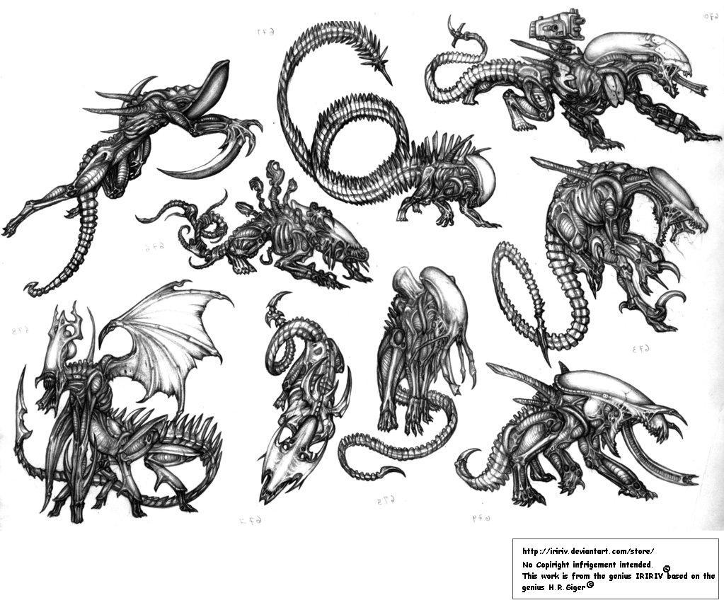 Aliens tribute II by IRIRIV