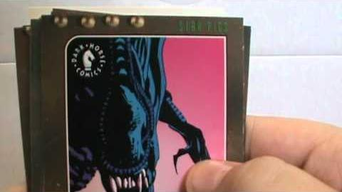 Alien 3 Trading Cards (Collectible Cardart)