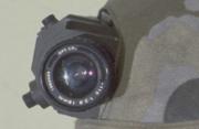Frost's helmet camera