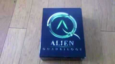 Alien Quadrilogy DVD Box Set Unboxing