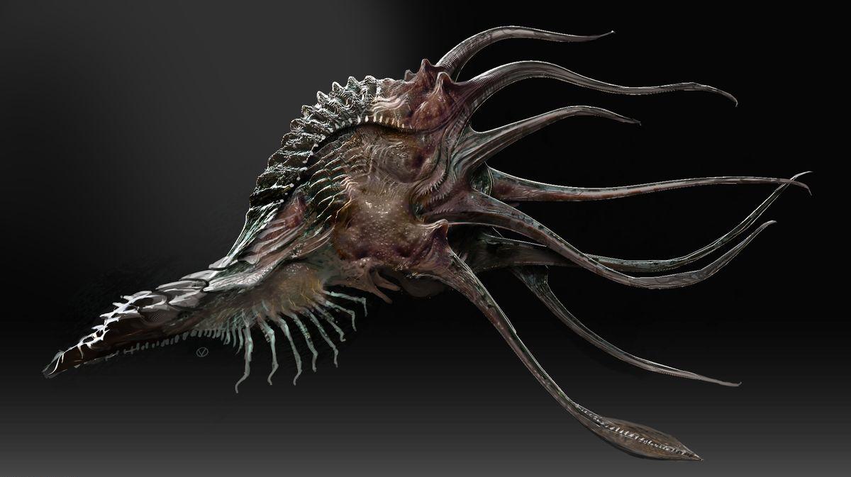 Xenomorph Queen Facehugger The Octo-Facehugger