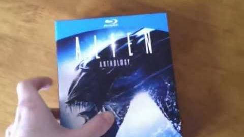 Alien Anthology 4 Disc Blu Ray unboxing (Read the Description)